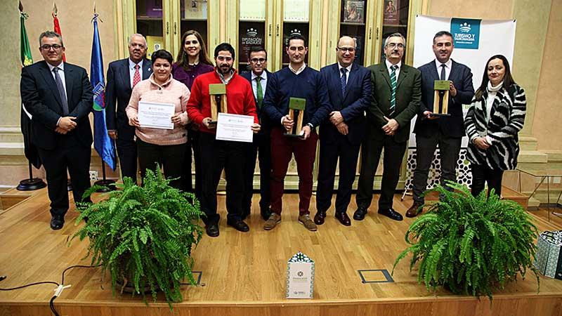 La Diputación de Badajoz entrega la segunda edición de los premios de la cata-concurso de aceites de oliva virgen extra