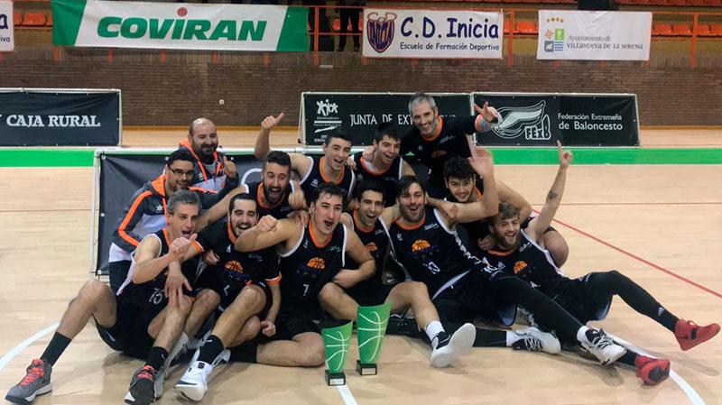 Pirron Sport Mérida se proclama campéon de la Copa de Extremadura de baloncesto
