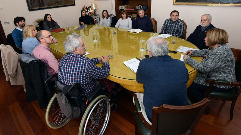 La Diputación de Cáceres renueva convenios de colaboración con asociaciones de personas con discapacidad