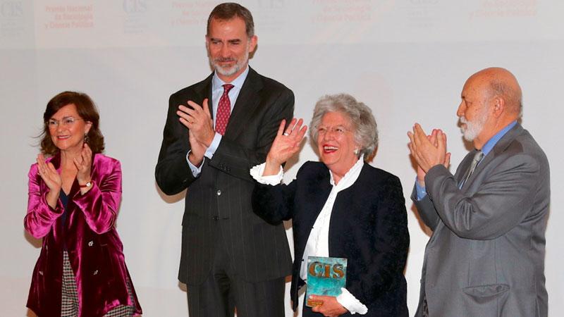 Ángeles Durán recibe el Premio Nacional de Sociología y Ciencia Política 2018