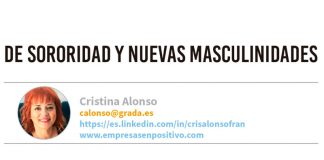 De sororidad y nuevas masculinidades. Grada 130. Cristina Alonso