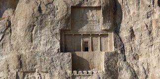 Visitando las tumbas de Naqsh-e Rostam. Grada 130. Viajes