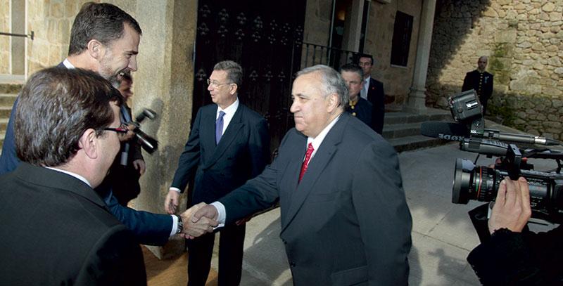 Antonio Ventura Díaz. El don de la conciliación. Grada 131. Perfil