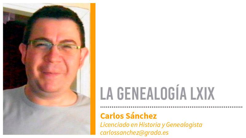 Genealogía LXIX. Grada 131. Carlos Sánchez