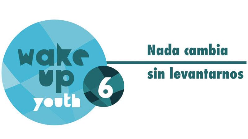 Wake Up Youth 6. Nada cambia sin levantarnos. Grada 131. Consejo de la Juventud de Extremadura