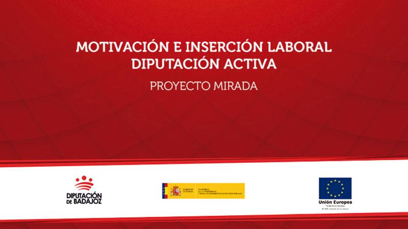 La Diputación de Badajoz trabaja contra el despoblamiento rural con el proyecto 'Mirada'. Grada 131