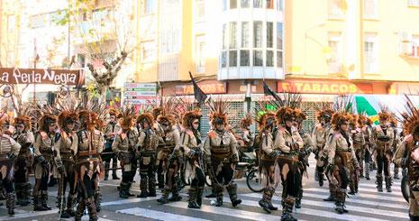 Badajoz dice adiós al Carnaval 2018 con el Entierro de la Sardina