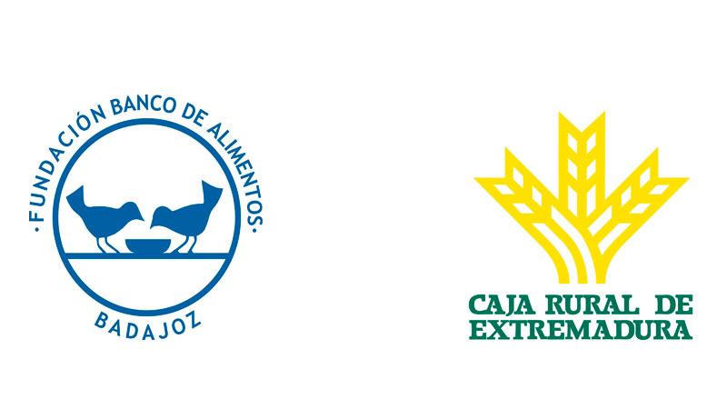 Caja Rural de Extremadura dona 1.000 litros de leche al Banco de Alimentos de Badajoz