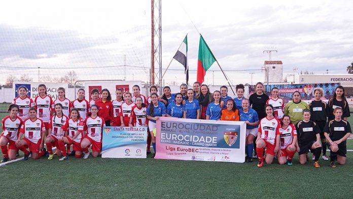 El Santa Teresa Badajoz organiza la I Convivencia Liga EuroBEC