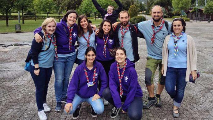 El personal voluntario de los Scouts se forma en Casar de Cáceres