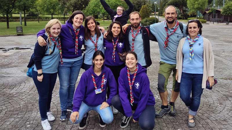 Formación del personal voluntario scout en Casar de Cáceres