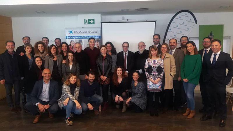 El programa 'Incorpora Extremadura' de La Caixa facilita 740 empleos a personas en riesgo de exclusión