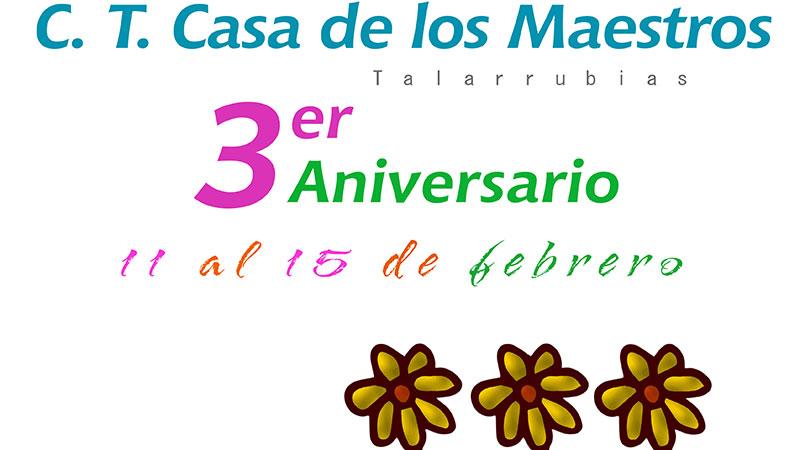 AFAD Recuerda Extremadura celebra el tercer aniversario de su centro terapéutico de Talarrubias