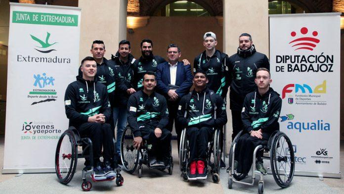 El Mideba ultima su preparación para la Copa del Rey de baloncesto en silla de ruedas