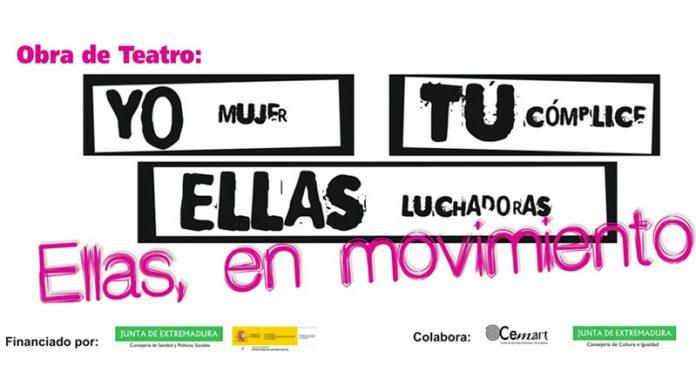 El montaje'Ellas, en movimiento' triunfa en su estreno oficial en la Sala Trajano deMérida