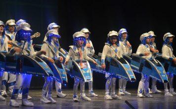 Los más pequeños arrasan en el concurso de murgas infantiles del Carnaval de Badajoz