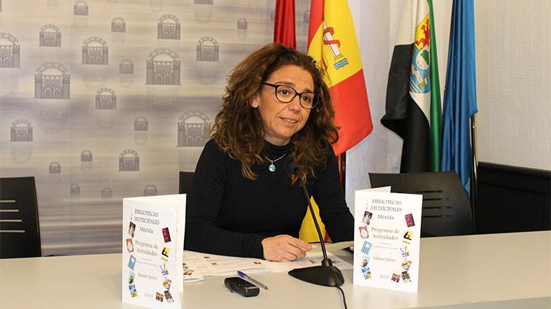 El Ayuntamiento de Mérida presenta las próximas actividades de las bibliotecas públicas