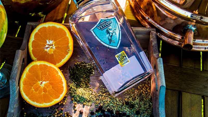 'Spirito Vetton' es reconocida como una de las siete mejores ginebras del mundo
