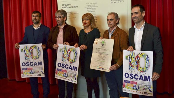 La Oscam presenta su temporada de conciertos, entre otros con la Orquesta de Extremadura