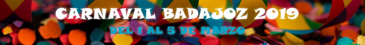 Banner del carnaval de badajoz 2019