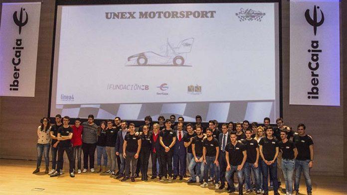 La Universidad de Extremadura presenta el proyecto UNEX Motorsport