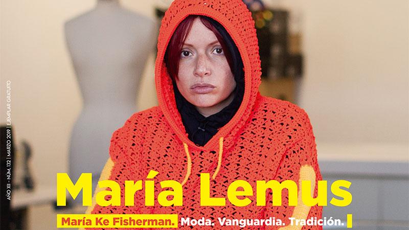 María Lemus. 'María Ke Fisherman'. Moda. Vanguardia. Tradición. Grada 132. Portada