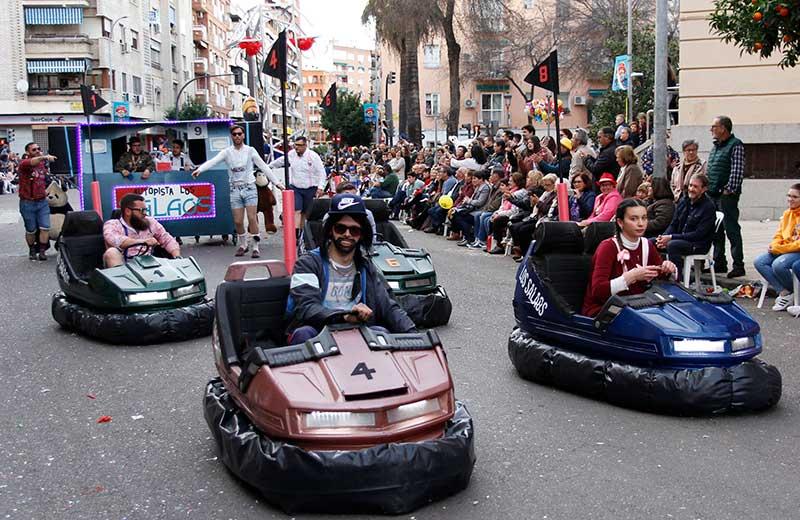 Carnaval de Badajoz. La edición más multitudinaria. Grada 132. Qué pasó