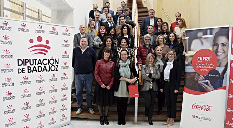 'GIRA Mujeres', de Coca-Cola, llega a la provincia de Badajoz de la mano de la Diputación provincial. Grada 132
