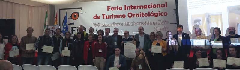 La Diputación de Cáceres promociona los recursos turísticos de la provincia en FIO 2019. Grada 132
