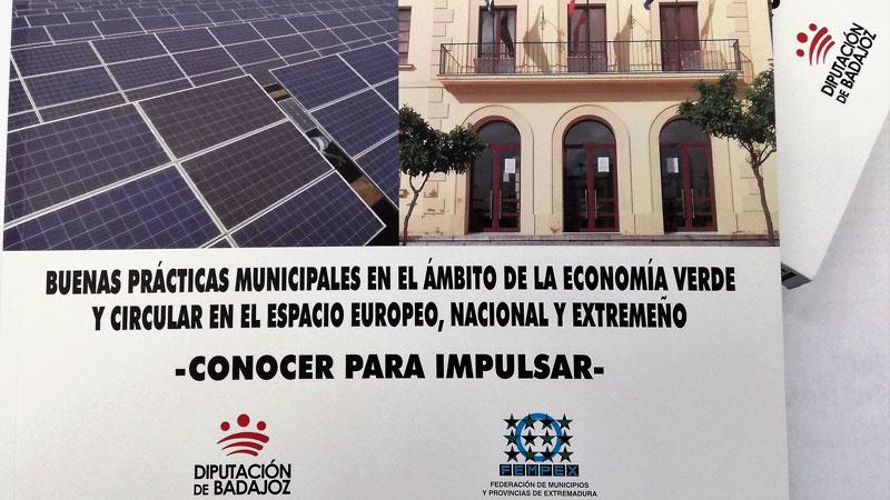 Un libro guía a los municipios en la implantación de la economía verde y circular. Grada 132. Fempex
