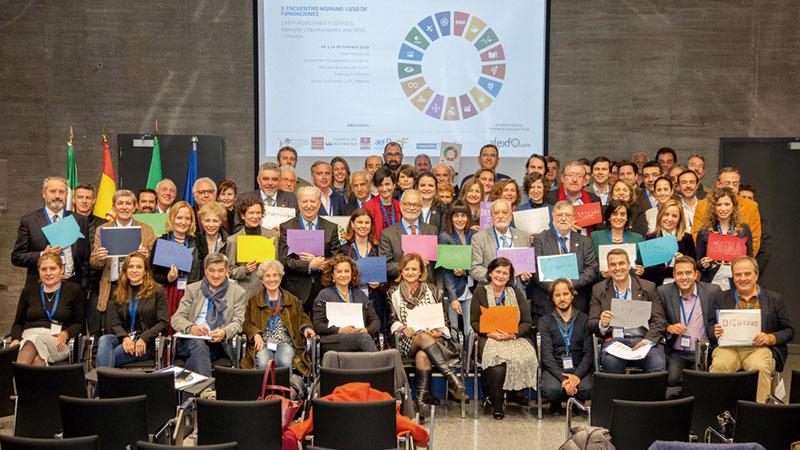 El desarrollo sostenible reúne a Fundaciones de España y Portugal. Grada 132. Fundación Yuste