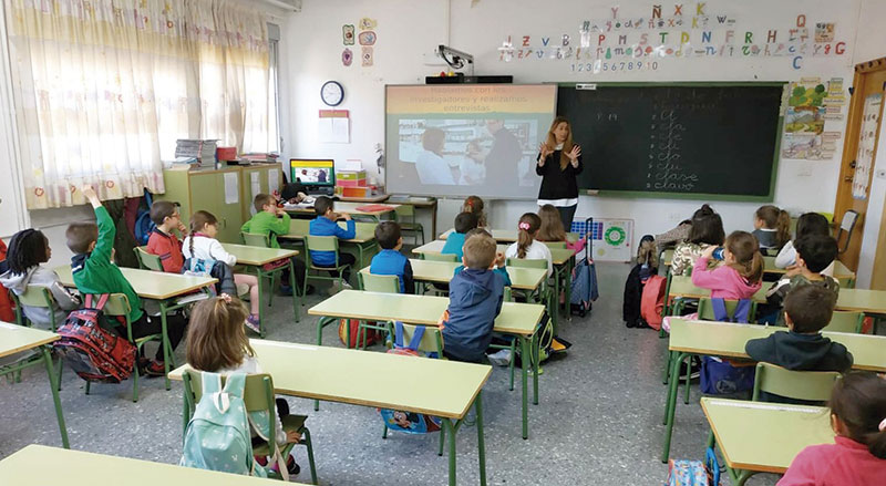 Extremadura celebra el Día internacional de la mujer y la niña en la Ciencia. Grada 132. Fundecyt-Pctex