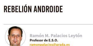 Rebelión androide. Grada 132. Ramón Palacios