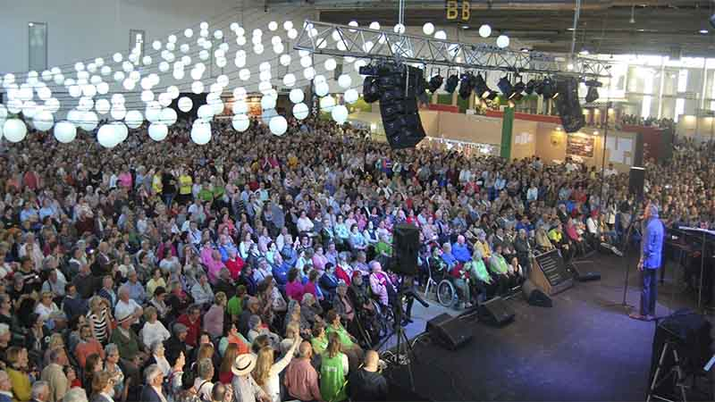Finaliza en Badajoz la XXII Feria de los Mayores con gran éxito de participación