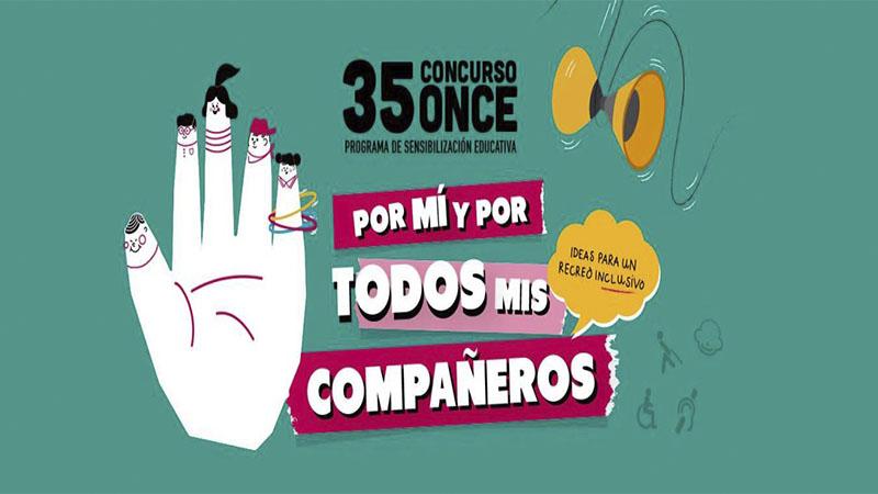 La ONCE anuncia los ganadores provinciales en Extremadura del concurso escolar 'Por mí y por todos mis compañeros'