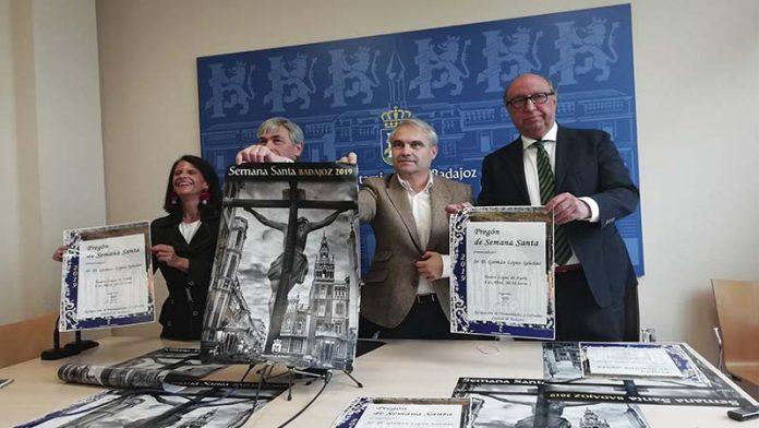 Germán López Iglesias será el pregonero de la Semana Santa 2019 de Badajoz