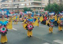 El desfile infantil del carnaval llena de color las calles de Badajoz
