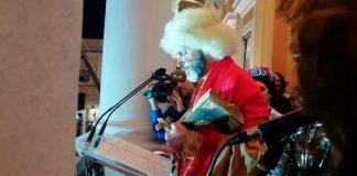 Fernando Tejero inaugura el Carnaval de Badajoz 2019