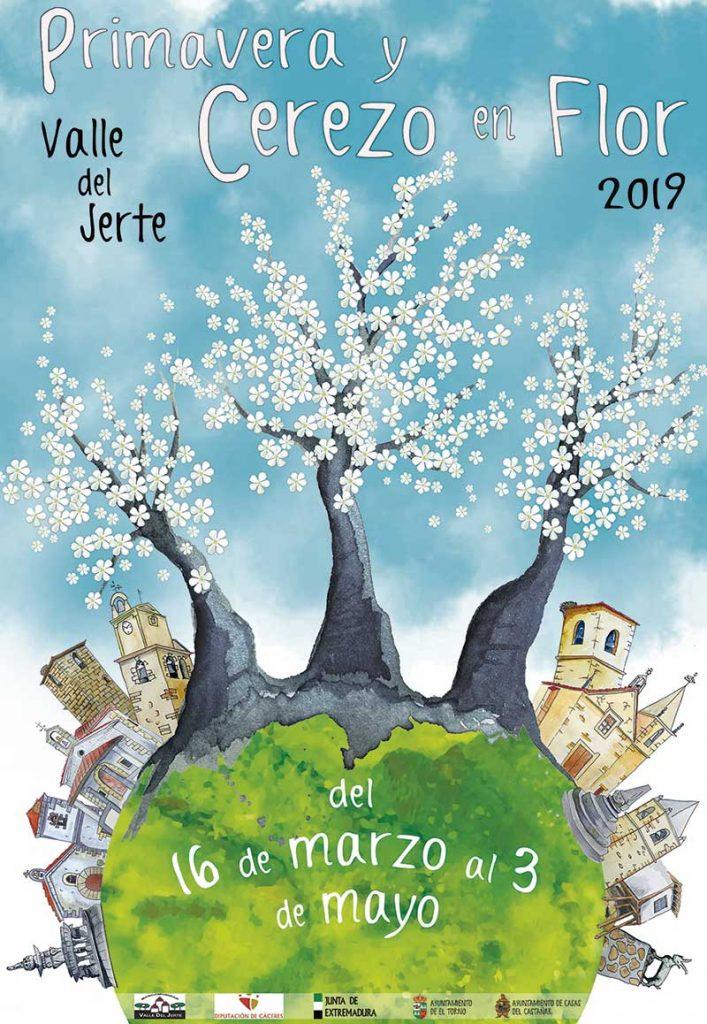 La Oficina de Turismo del Valle del Jerte informa sobre el estado de la floración