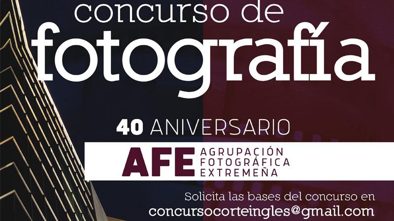 La Agrupación Fotográfica Extremeña convoca un concurso de fotografía por su cuadragésimo aniversario