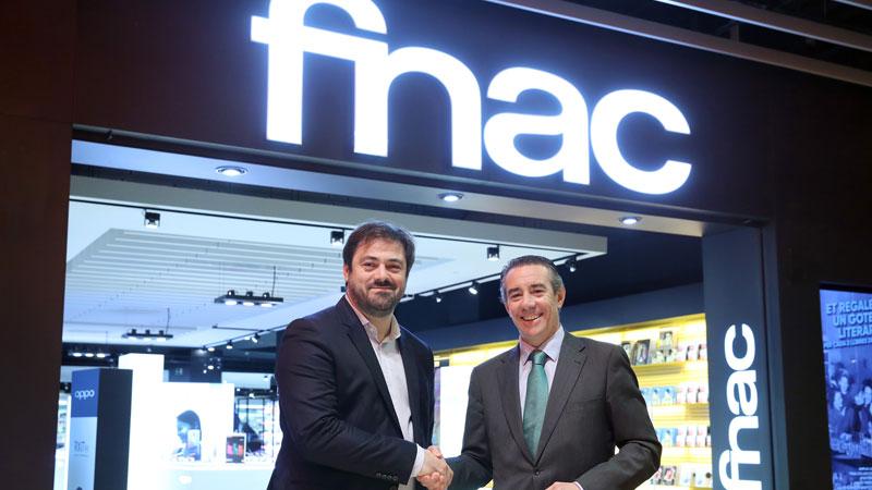 CaixaBank firma un acuerdo de cooperación financiera con Fnac