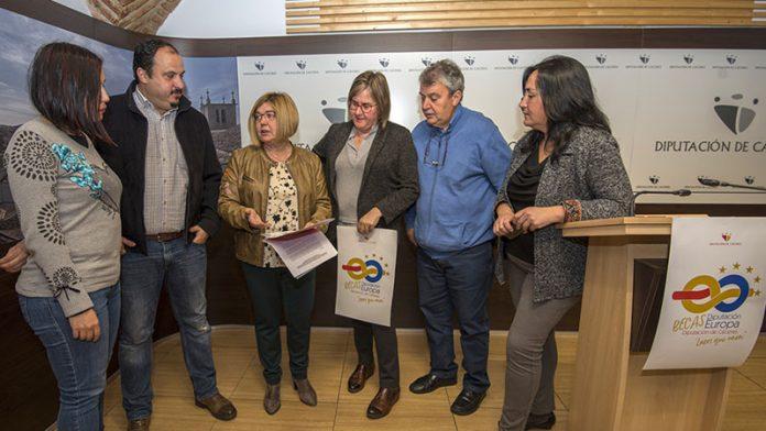 La Diputación de Cáceres convoca las Becas Diputación Europa para jóvenes titulados desempleados