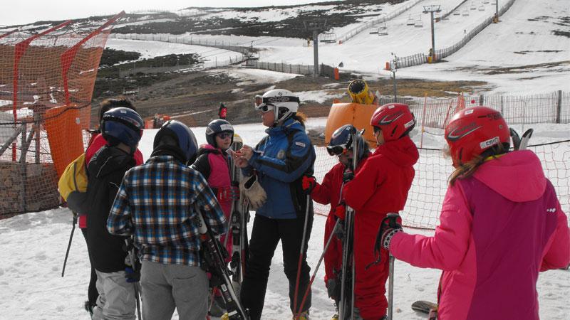 Se suspende el programa 'Deportes de Invierno' de la Diputación de Cáceres por las condiciones meteorológicas
