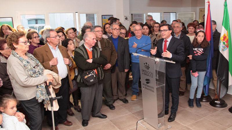 Guareña inaugura la nueva sede de su biblioteca municipal 'Eugenio Frutos'