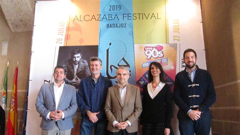 Pablo López y 'Viva la fiesta XXL' protagonizan el cartel del 'Alcazaba Festival' de Badajoz