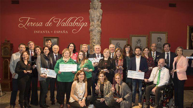 Ibercaja entrega los premios 'Impulso Solidario'