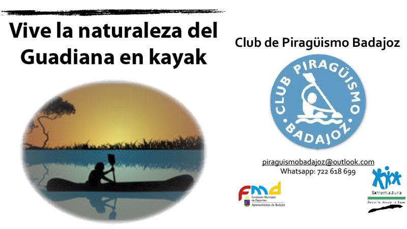 El Club Piragüismo Badajoz edita una guía sobre el ecosistema fluvial del Guadiana urbano