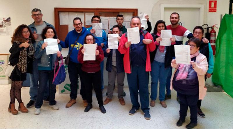 Plena inclusión Extremadura celebra el éxito de la campaña #MiVotoCuenta