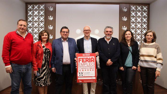 ferias de empleo, emprendimiento y empresa de la Diputación de Badajoz
