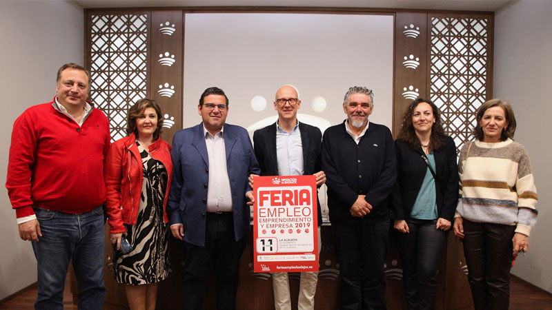 Diez municipios acogerán ferias de empleo, emprendimiento y empresa de la Diputación de Badajoz